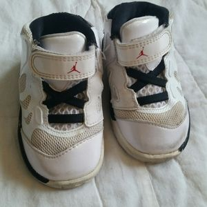 Air Jordans 4.5C Infant White Baby Shoes Sneakers